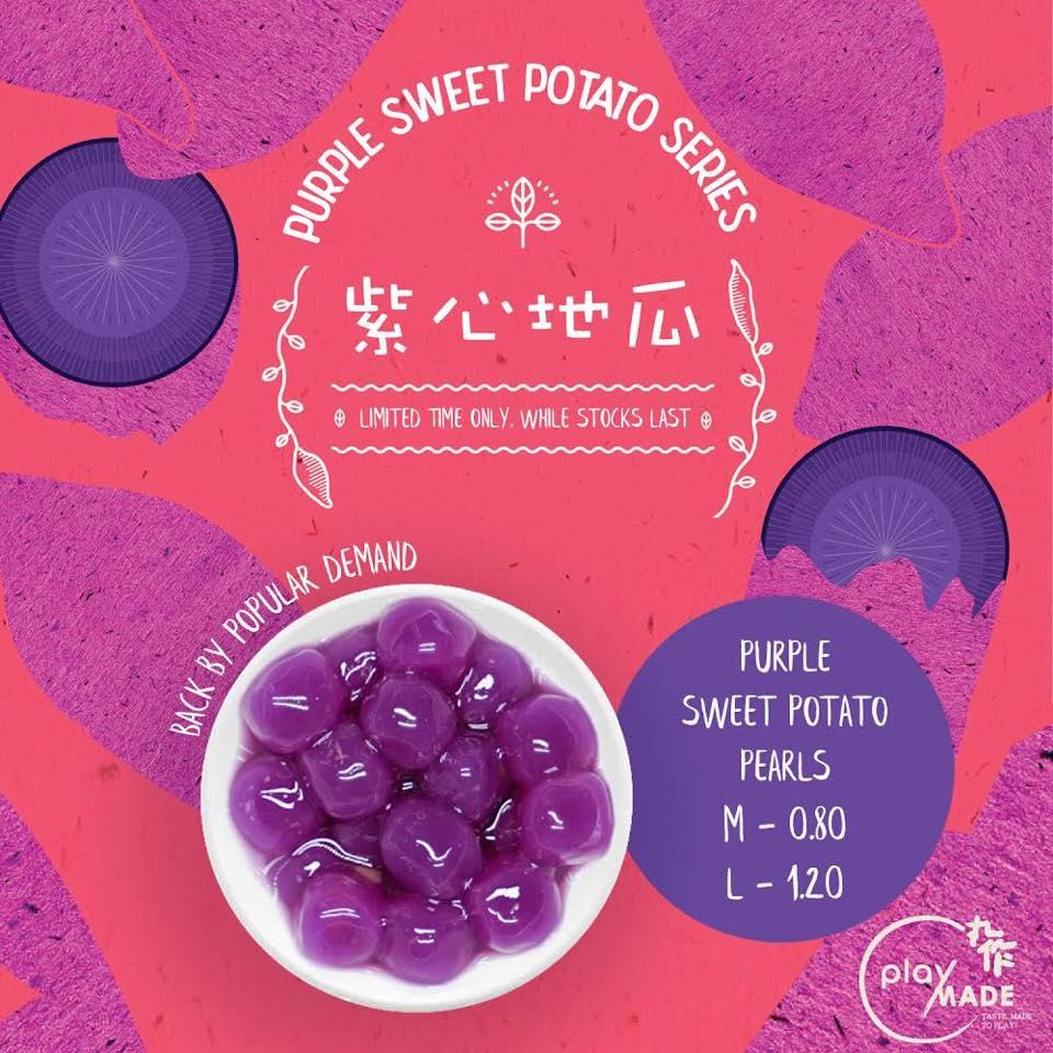Playmade Purple Sweet Potato Pearls