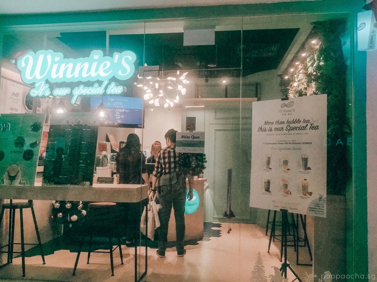 Winnie's Store Exterior